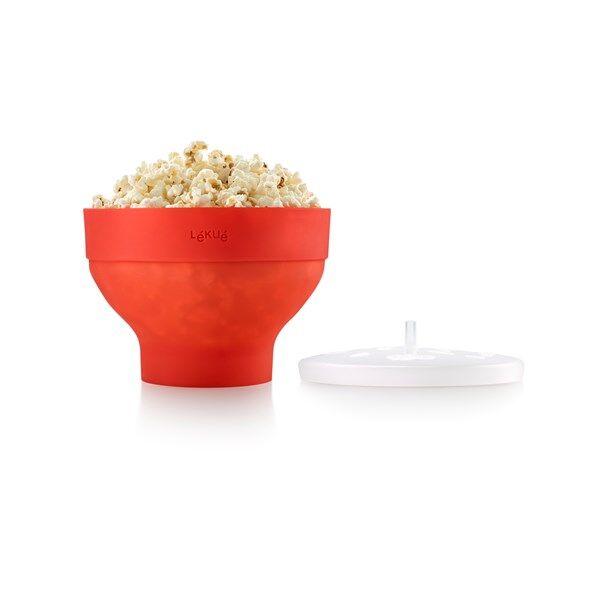 Lékué Popcorn Maker Punainen