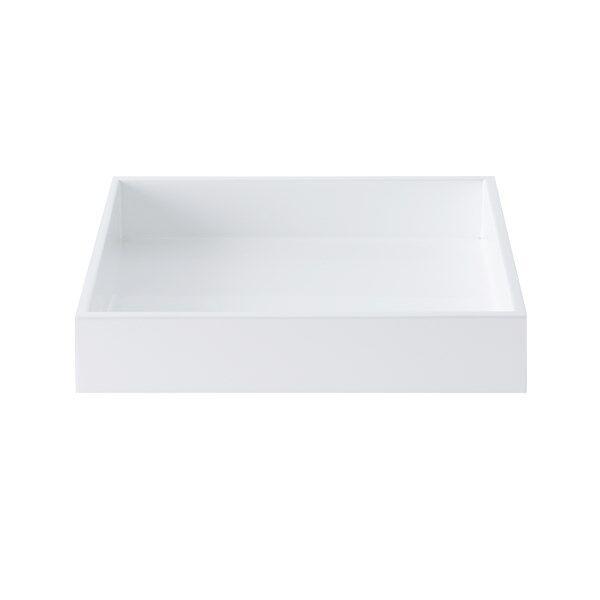 Image of Mojoo Lackbricka 19x19x3,5 cm White