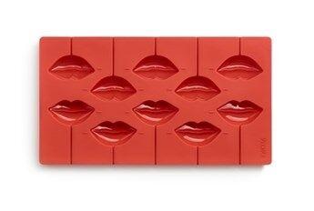 Kiss Lékué Pop Kiss Suklaatikkarimuotti Punainen