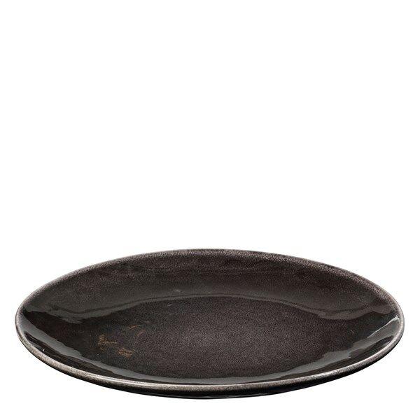 Broste Nordic Coal Lautanen 31 cm Tummanharmaa