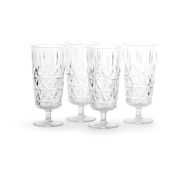Sagaform Picnic Champagneglas 4-pack