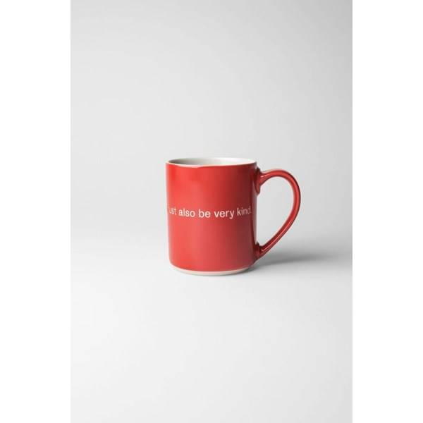 Design House Astrid Lindgren Mugg If You Are Very Strong 36 cl Röd