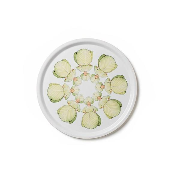 Design House Elsa Beskow Cabbage Tarjotin Pyöreä 35 cm