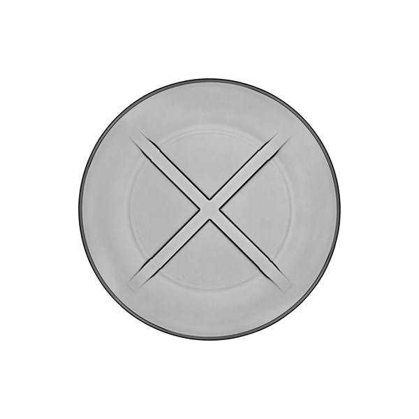 Kosta Boda Bruk Lautanen 19.5 cm Savunharmaa