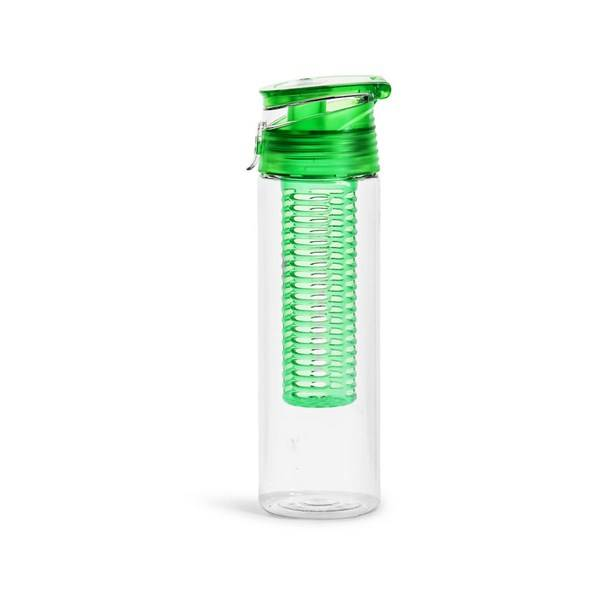 Sagaform Fresh Flaska Med Fruktkolv Låsbar