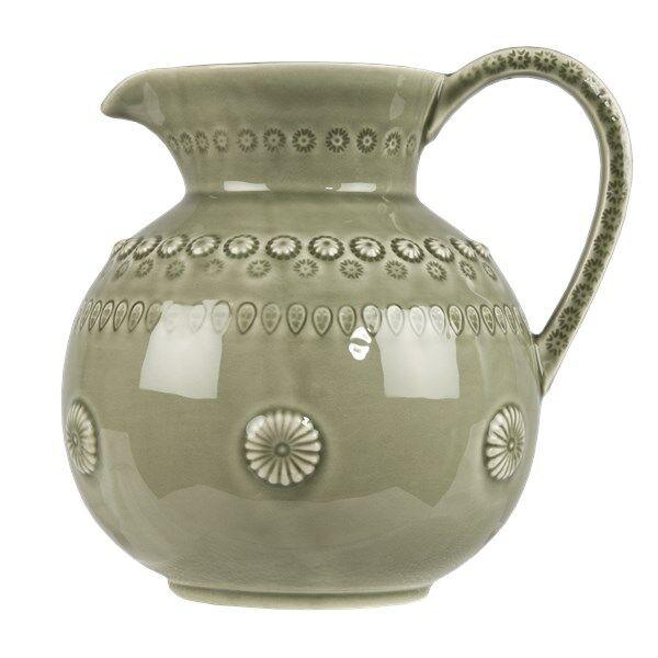 Daisy Tech PotteryJo Daisy Kannu 1.8 L Armeijanvihreä