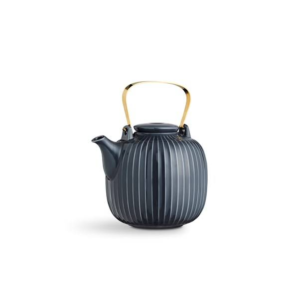 Kähler Hammershöi Teekannu 1.2 L Antrasiitinharmaa