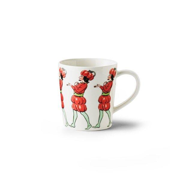 Design House Elsa Beskow Mugg med Handtag Herr Tomat 40 cl