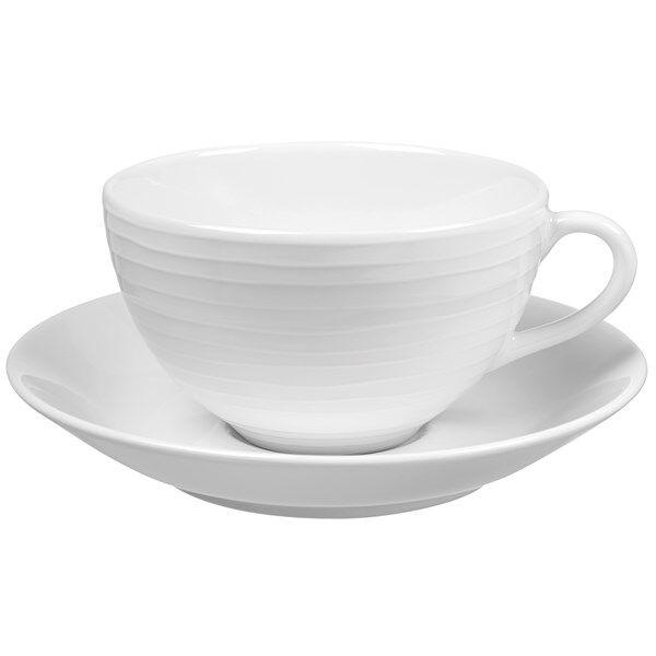 Design House Blond Teekuppi & Aluslautanen Valkoinen