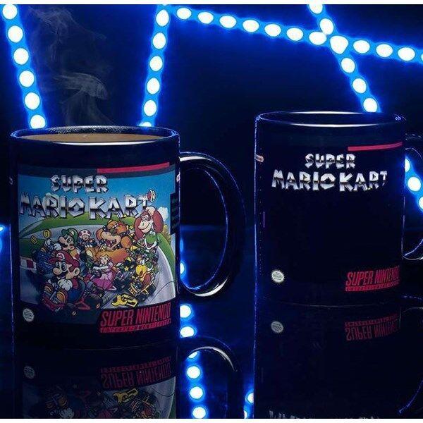 Super Mario Kart Lämpöherkkä Muki
