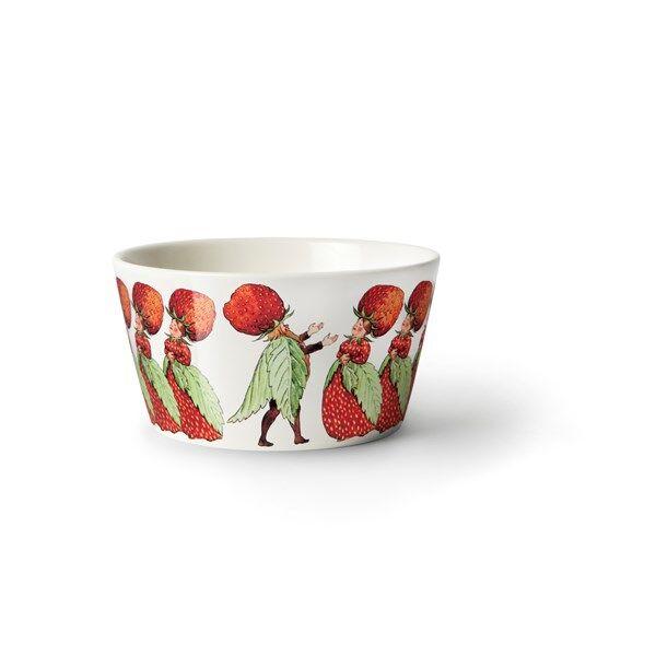 Design House Elsa Beskow Strawberry Family Kulho 13 cm