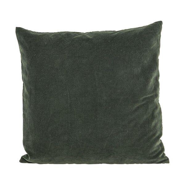 House Doctor Velv Kuddfodral 100% Bomull 50x50 cm Beluga Green