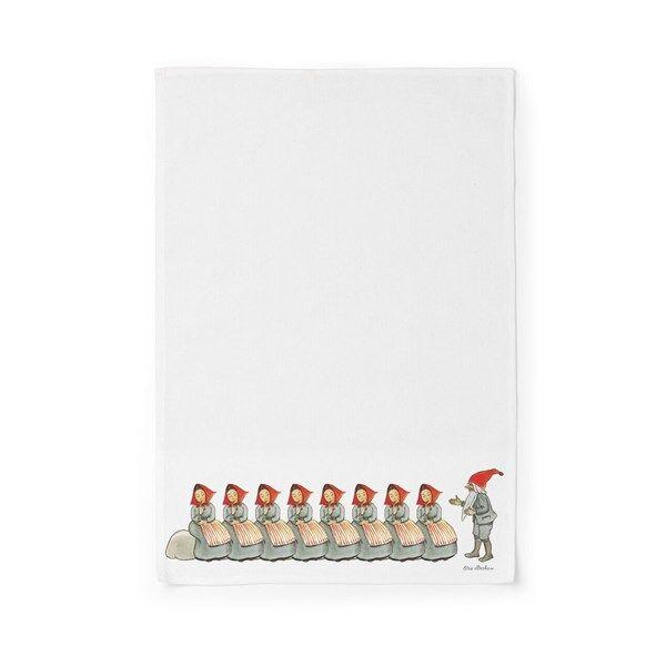 Design House Elsa Beskow Keiöttiöliina Familjen Jul 45 x 65 cm