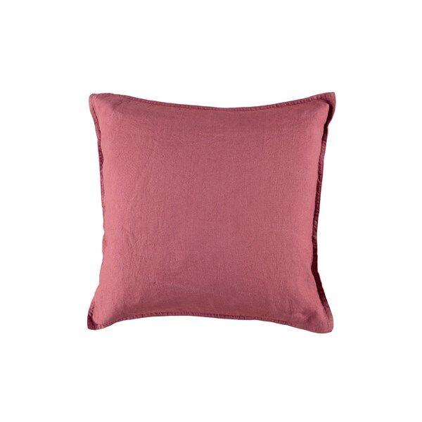 Gripsholm tyynyliina pesty punainen 50x50