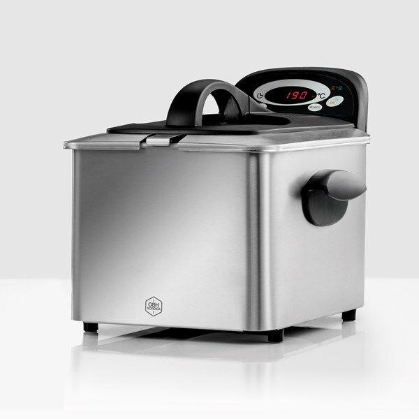 OBH Nordica Pro Digital Uppopaistin 4 L Silver