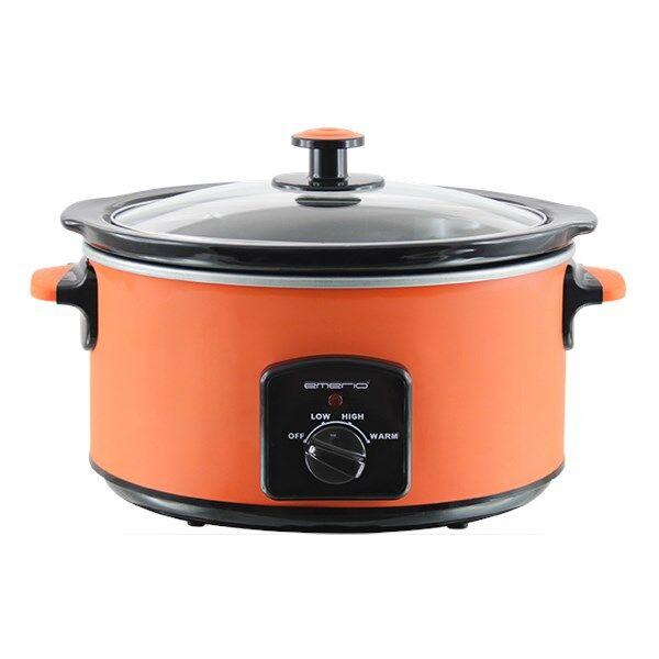 Emerio Slow Cooker 4.5 L Orange