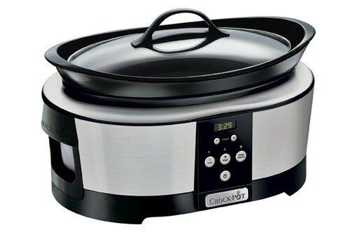 Crock-Pot Haudutuspata Ajastimella 5.7 L Ruostumaton Teräs