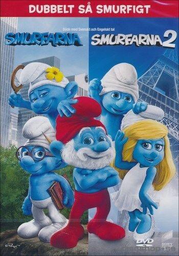 DVD Smurfarna 1 & 2 Box