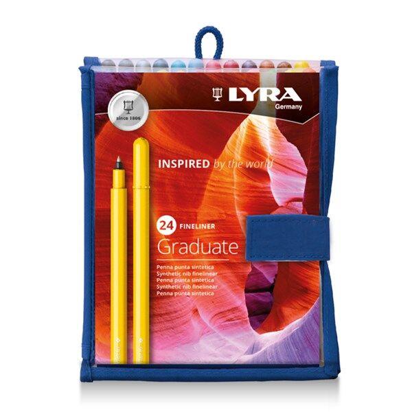 Lyra Graduate Fineliner 24-pack