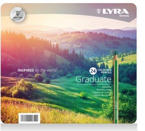 Lyra Graduate Colour Pencil 24-Pack