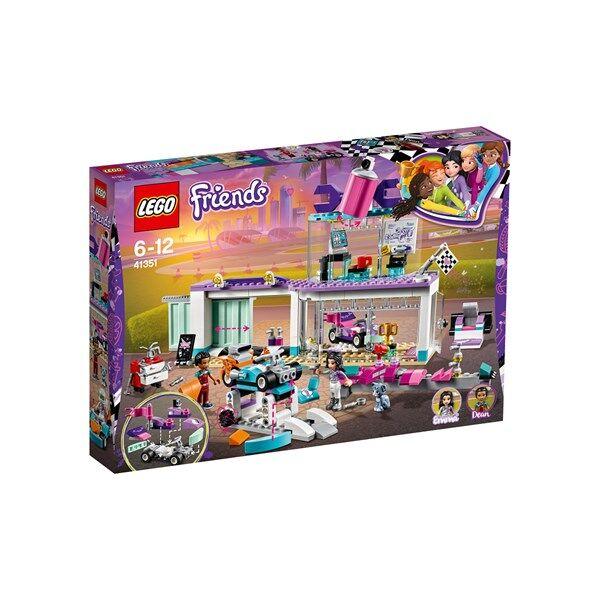 Lego Luova tuunausautokorjaamo, LEGO Friends (41351)