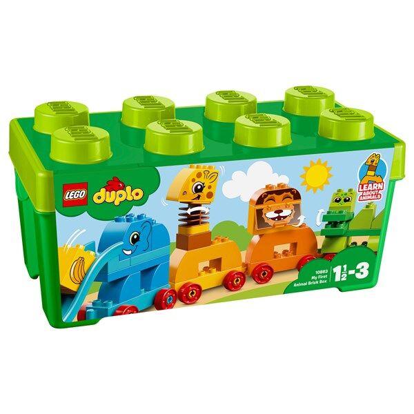 Lego Mitt första djur ? Klosslåda, LEGO DUPLO My First (10863)