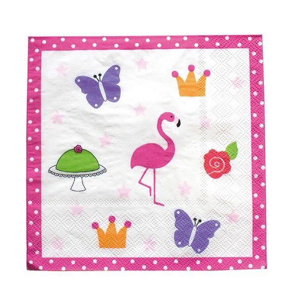 Flamingo Jabadabado PARTY Servetit Flamingo