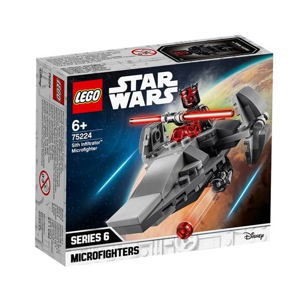 Lego Sith Infiltrator Microfighter, LEGO Star Wars (75224)