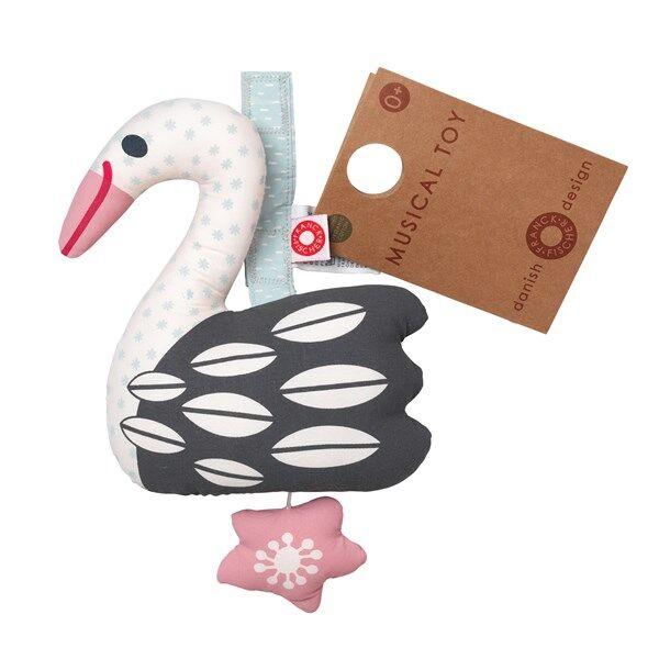 Else light swan musical toy, Franck & Fischer