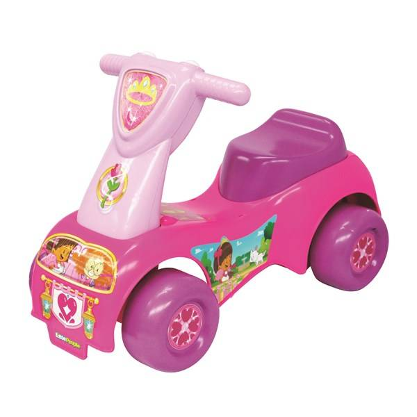 Princess Push´n scoot, Princess Ride-On, Sparkbil, Fisher-Price
