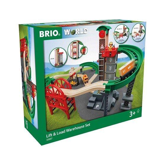 Brio World - 33887 Nosta ja lastaa -varastosetti