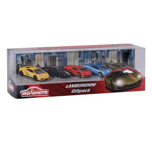 Lamborghini gift set, 5-pack. Majorette
