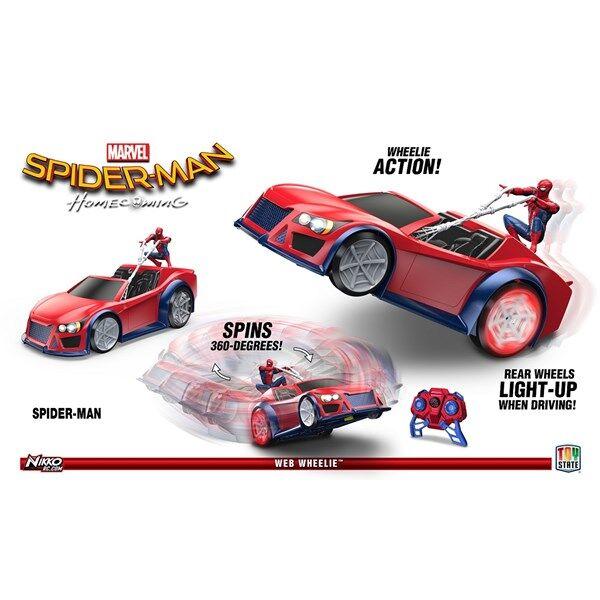 Radio-ohjattava auto, Web Wheeler RC, Spiderman