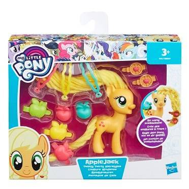 My Little Pony Twist Twirly Hairstyles Applejack