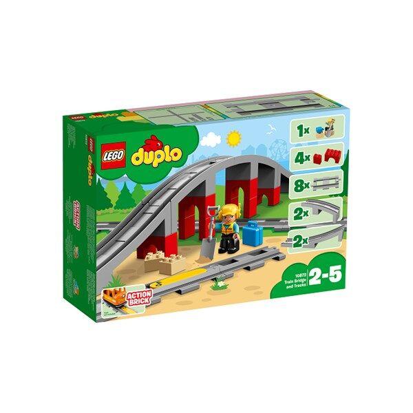 Lego Junasilta ja junarata, LEGO DUPLO Town (10872)