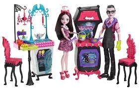Draculaura & Dracula Playset, Monster High