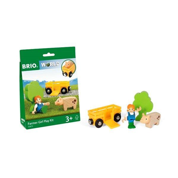 Brio World - 33875 Leksakskit med bondflicka