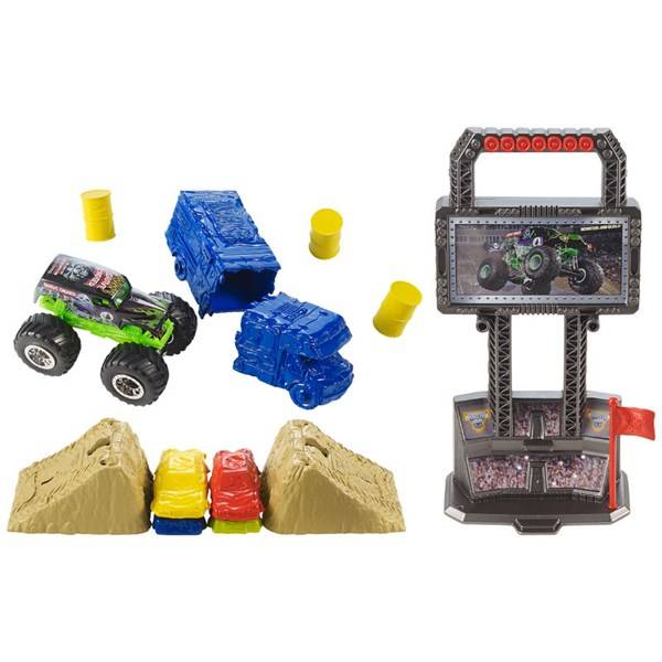 Hot Wheels Monster Jam Crash & Carry Arena