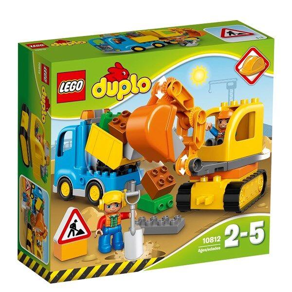 Lego Auto ja telakaivuri, Lego Duplo (10812)