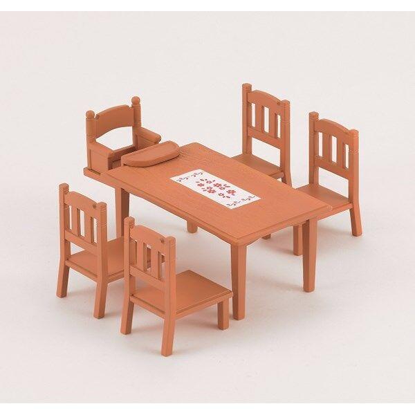 Sylvanian Families Matbord och stolar, Sylvanian Families