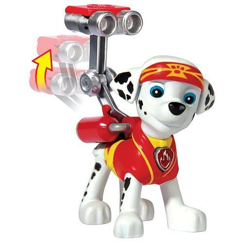 Paw Patrol, Actionfigur, Pup-Fu Marshall