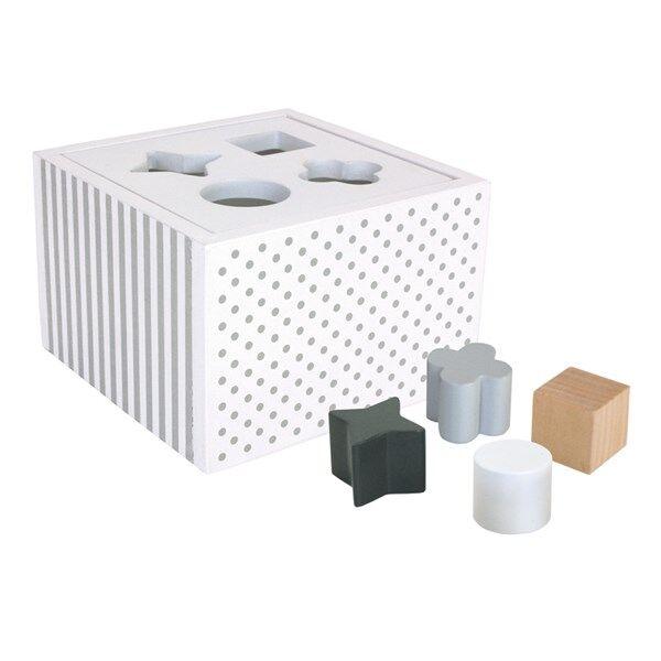 Jabadabado Muotolaatikko Valkoinen