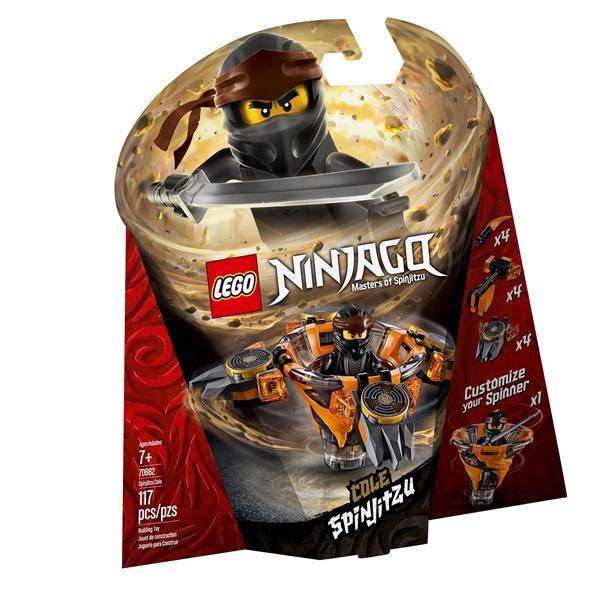 Lego Spinjitzu Cole, LEGO NINJAGO (70662)