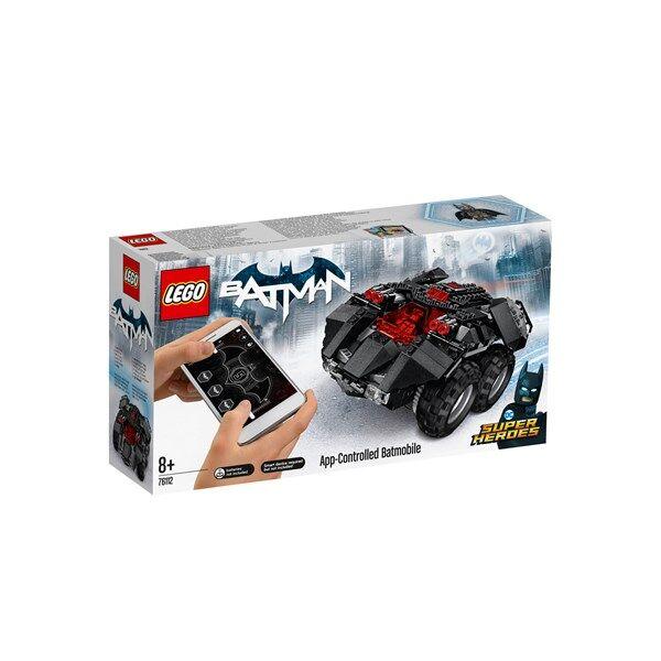 Lego App-Controlled Batmobile, LEGO Super Heroes (76112)