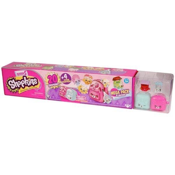 Shopkins Mega Pack 20 kpl Season 5