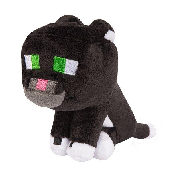 Minecraft Tuxedo Cat Pehmolelu 20 cm