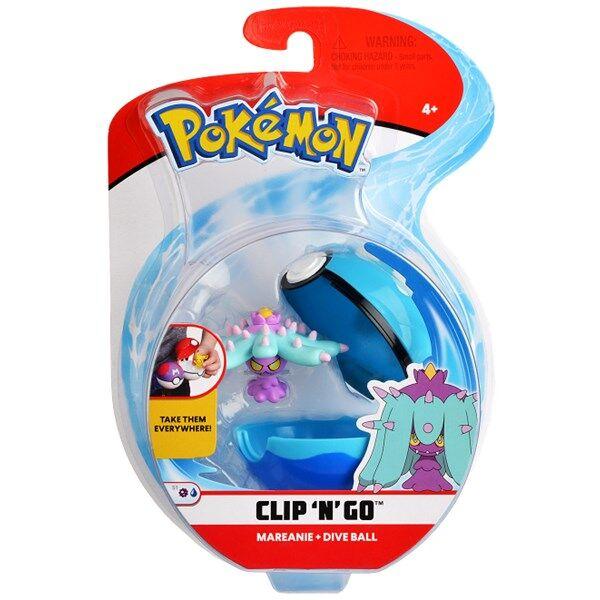 Pokémon Clip N Go, Mareanie & dive ball