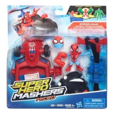 Avengers Super Hero Micro Vehicles & Figure Spiderman
