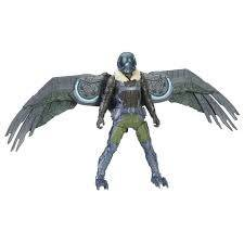 Spiderman Web City Feature Figure Vulture Moving Wings 15 cm
