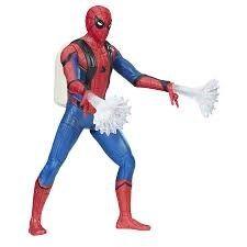 Spiderman Web City Feature Figure Spiderman Light Up 15 cm